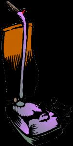 color graphic of vacuum