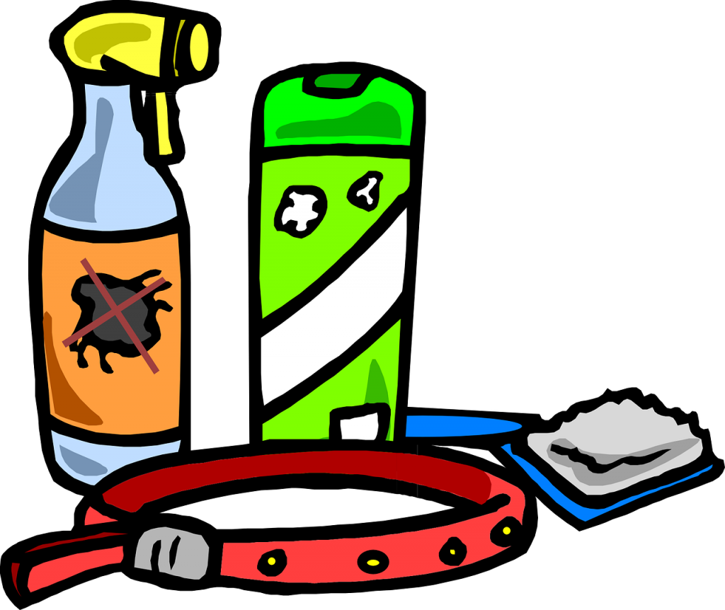 various chemical flea treatments