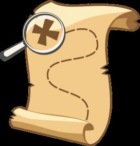 Cat Pee Treasure Hunt Map