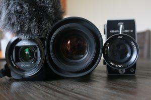 Cameras for videos
