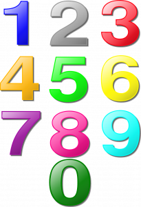 numbers/counting