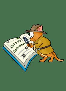 Skye Blake, Cat Info Detective - hi res logo