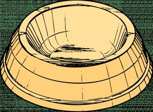 cat bowl - drawing