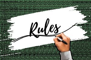 rules-plain background