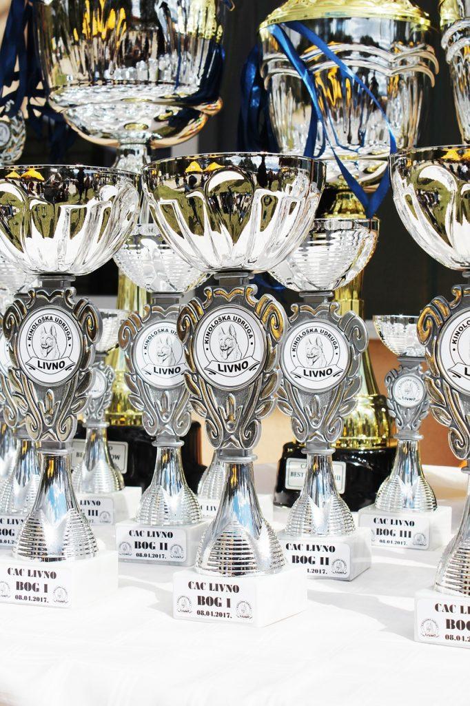 show trophies