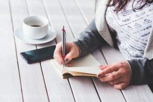 woman-writing-notes